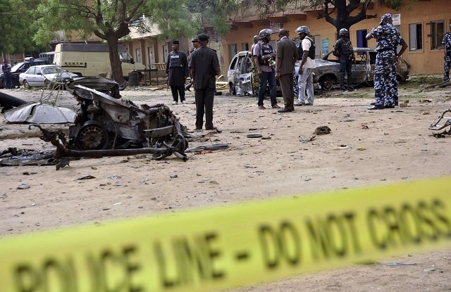 22 people were killed and 28 injured PHOTO: REUTERS