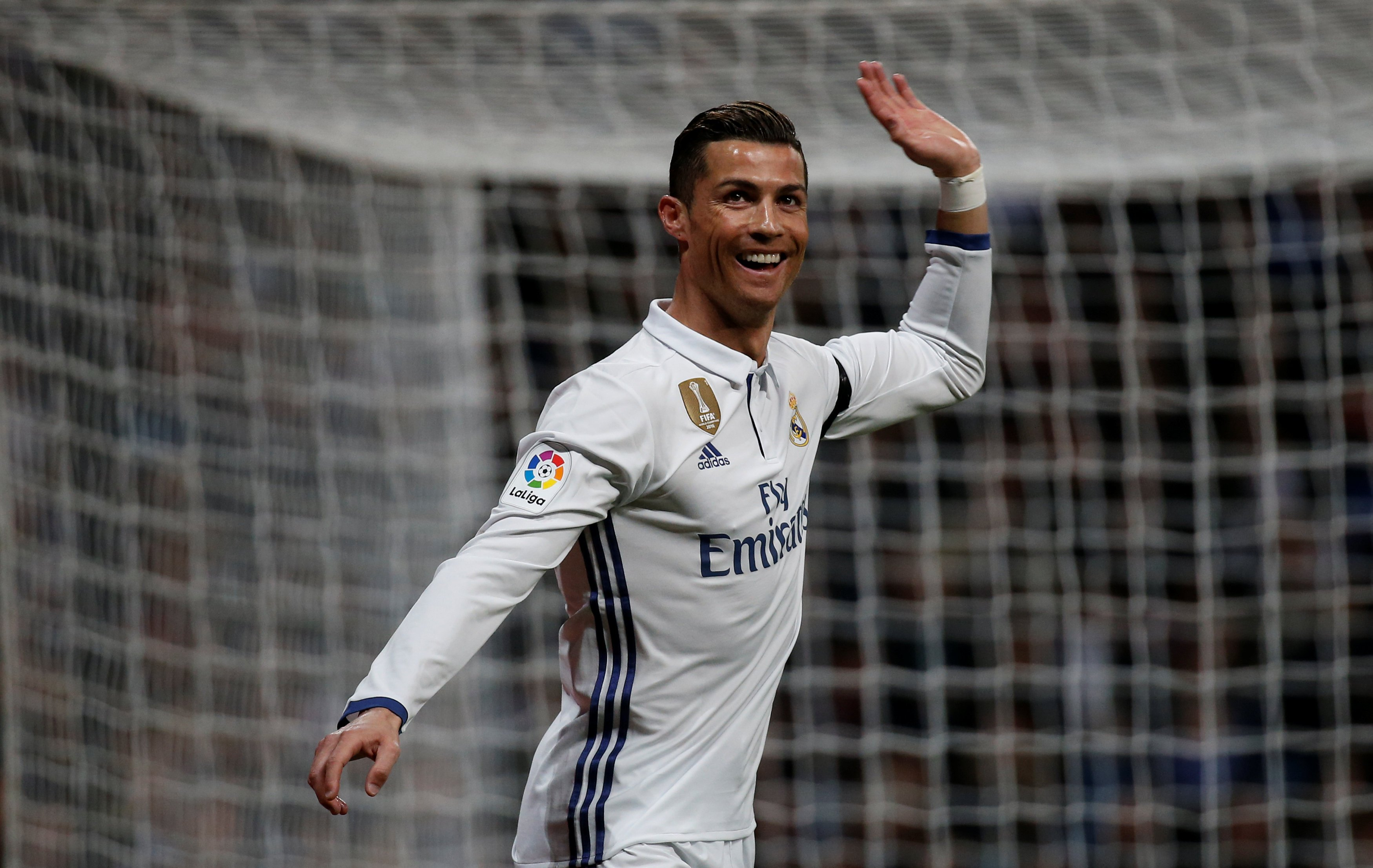 Madrid and Ronaldo have found their form at the right time but they are almost certainly out of the title race, with Barcelona already 14 points ahead. PHOTO: AFP
