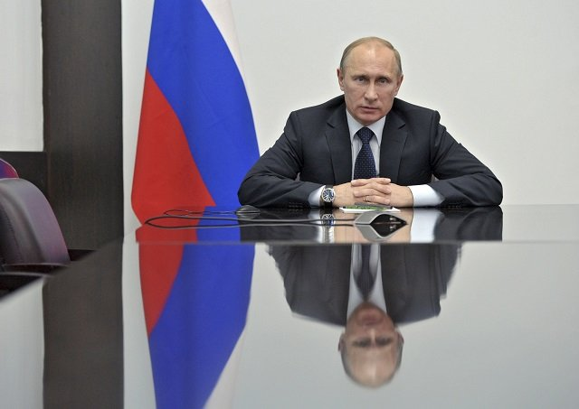 """""""Putin is a mirror and everyone can see in him what they want,"""" independent political analyst Konstantin Kalachev PHOTO: REUTERS"""