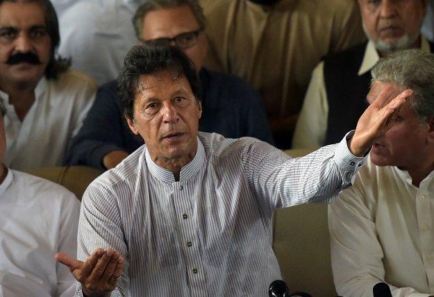 PTI Chief Imran Khan. PHOTO: AFP