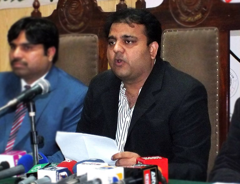 Our investigation into the incident reveals that upon receiving a text message from a 'source' Fawad Chaudhry decided to broadcast the false news. PHOTO: ONLINE