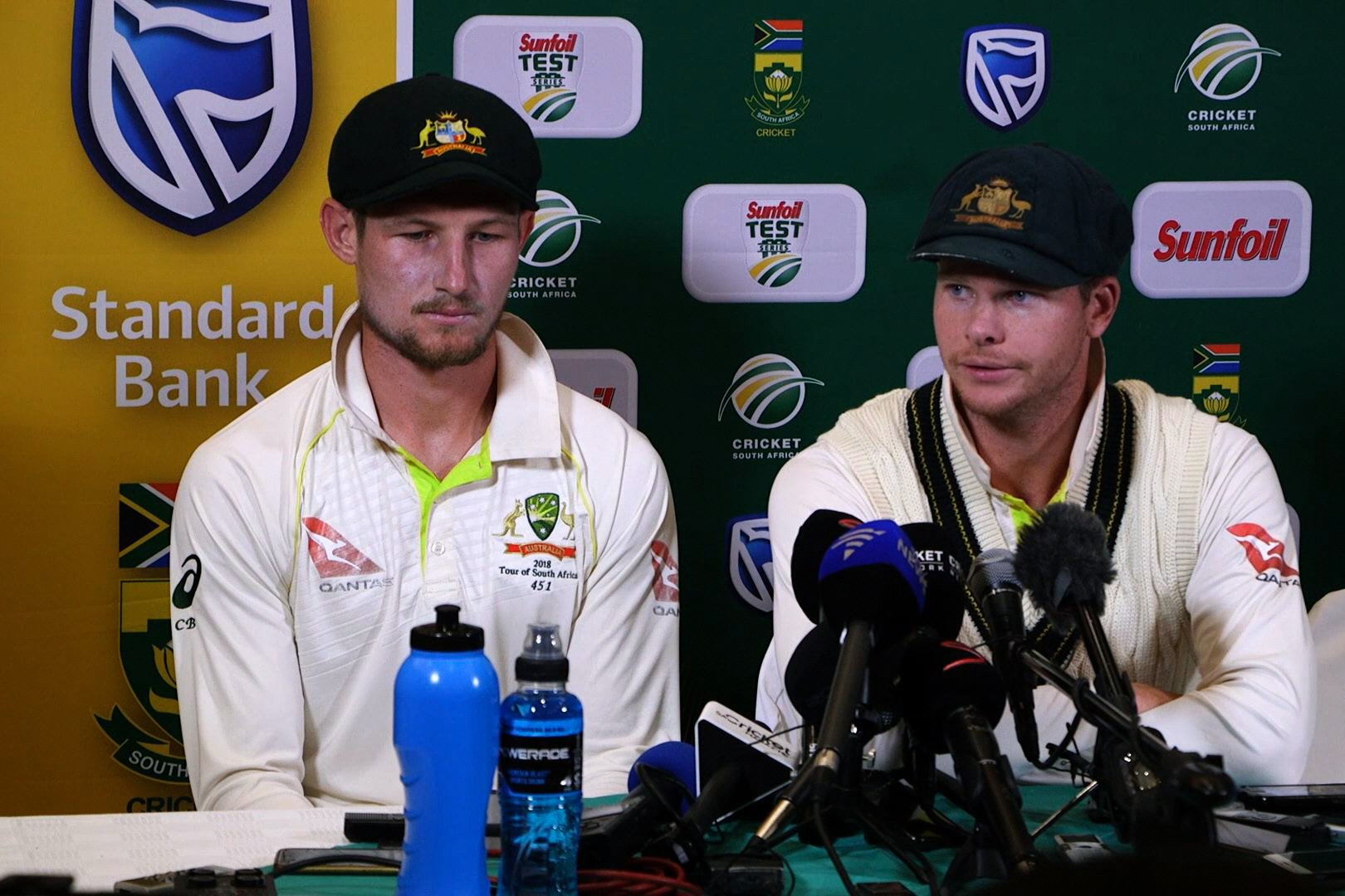 Smith's removal from captaincy mid-Test and one-match ban may not be the only sanctions he faces. PHOTO: AFP