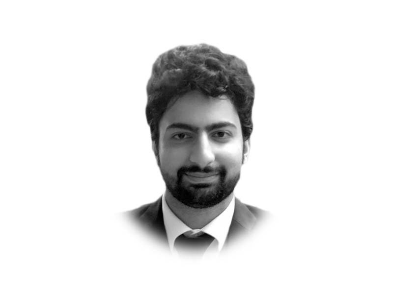 The writer is a lawyer, formerly practising and teaching law in Lahore, and currently based in Singapore. He holds an LLM from New York University where he was a Hauser Global Scholar. He tweets @HNiaziii