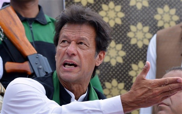 PTI chairman Imran Khan. PHOTO: AFP
