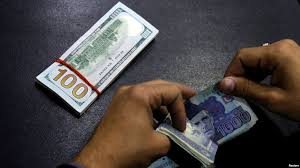 Decrease for 18th successive week on account of debt servicing, official payments. PHOTO: FILE