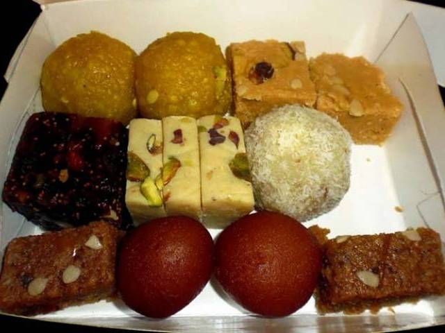 The 'substandard' or 'poisonous' sweets were being sold at different joints in the city. PHOTO: FILE