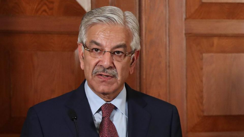 Foreign Minister Khawaja Asif. PHOTO: AFP