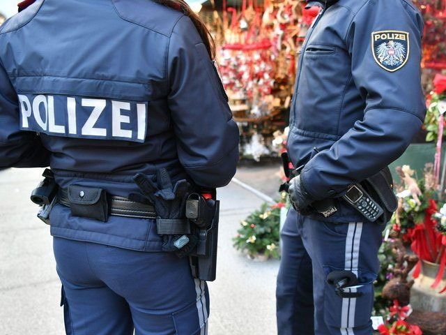 A file photo of Austrian police personnel. PHOTO: AFP