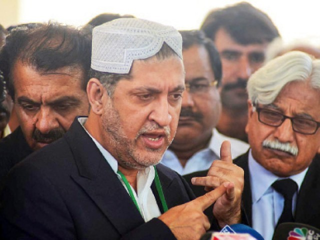 Sardar Akhtar Mengal.  PHOTO: EXPRESS