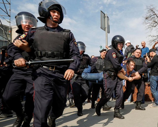 Observers have expressed fears that the protests could lead to mass arrests and criminal cases   PHOTO: REUTERS