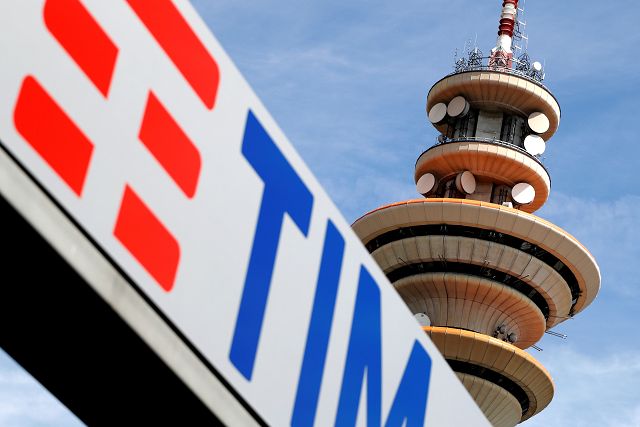 Telecom Italia tower is seen at the headquarter in Rozzano neighbourhood of Milan, Italy, May 25, 2016. PHOTO: REUTERS