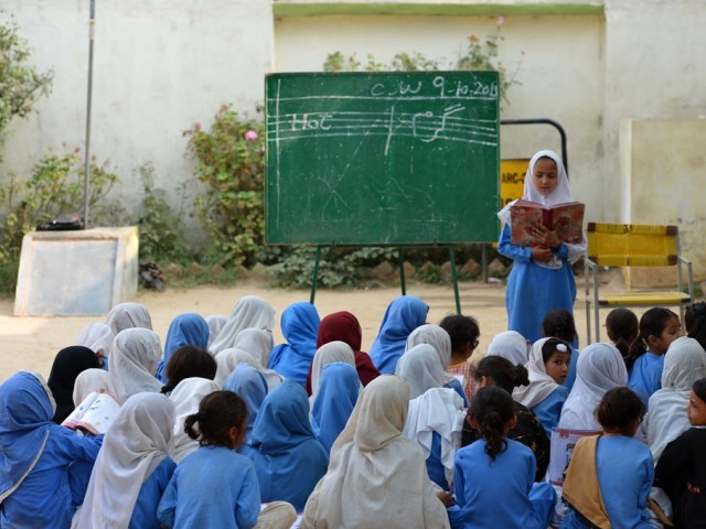 UN report urges govt to revisit definition of literacy, include critical components PHOTO: AFP