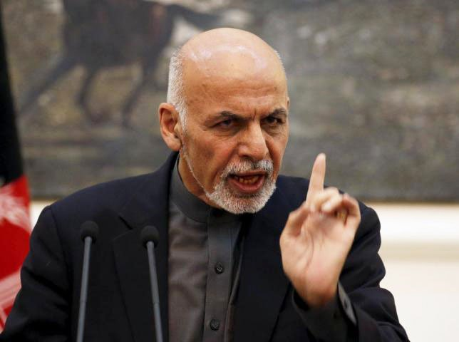Afghan President Ashraf Ghani. PHOTO: REUTERS