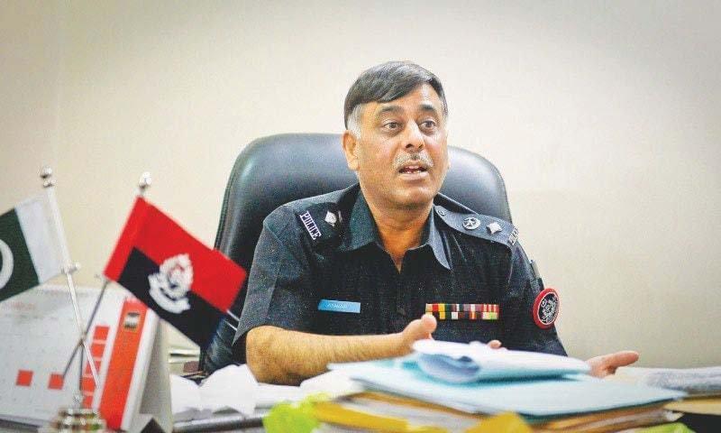 Former Malir SSP Rao Anwar. PHOTO: FILE