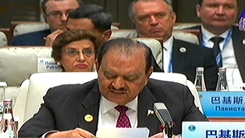 President Mamnoon Hussain. PHOTO: RADIO PAKISTAN