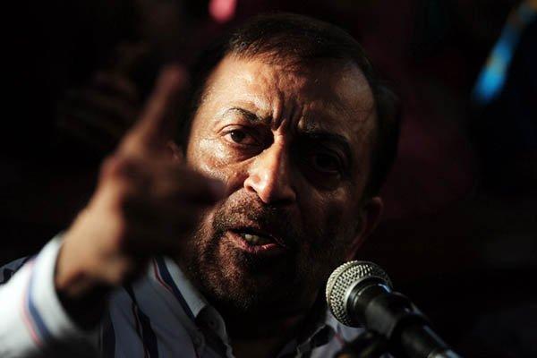 Dr Farooq Sattar. PHOTO: AFP
