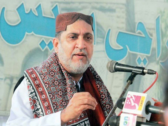 We are the only party that kept raising its voice for the rights of Balochistan, Mengal said PHOTO: ATHAR KHAN/EXPRESS