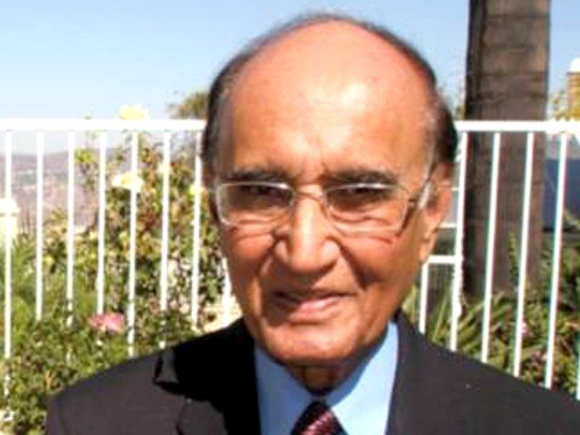 Yousufi breathed his last at the age of 94 after a protracted illness. PHOTO: FILE