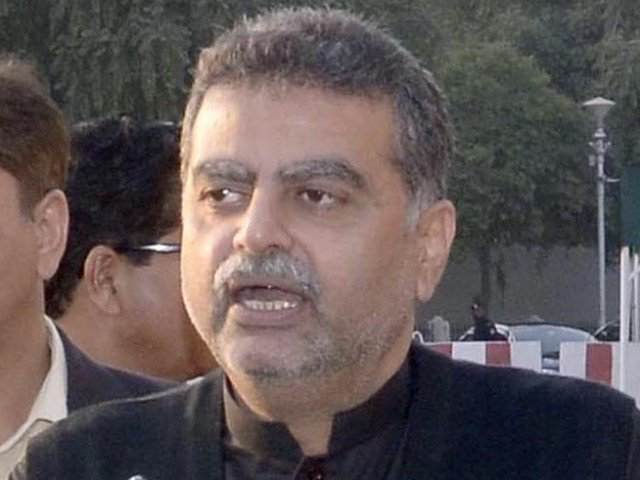 Speaking about how he was not being given the party ticket in the upcoming election he said that he would contest the polls as an independent candidate from Lahore's NA-133. PHOTO: EXPRESS
