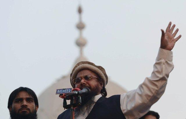 Hafiz Saeed. PHOTO: AFP