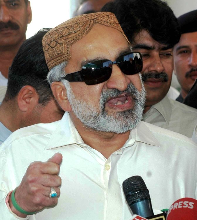Former Sindh Home Minister Zulfiqar Mirza. PHOTO: INP