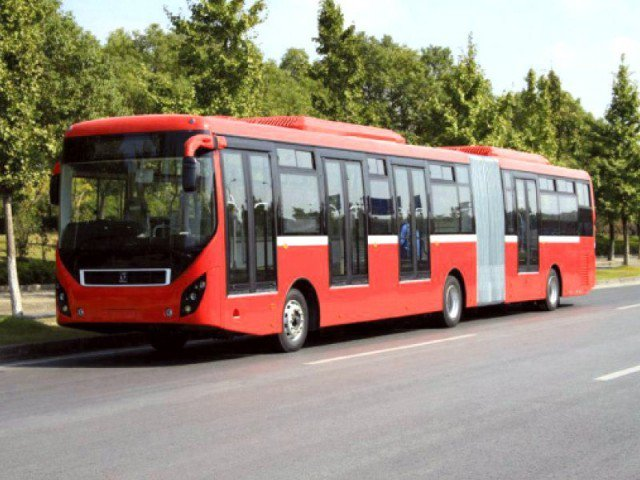 The CEO of the project's special purpose vehicle, TransPeshawar, was removed when he refused to accelerate the procurement of hybrid diesel buses for politically motivated reasons.  PHOTO: EXPRESS