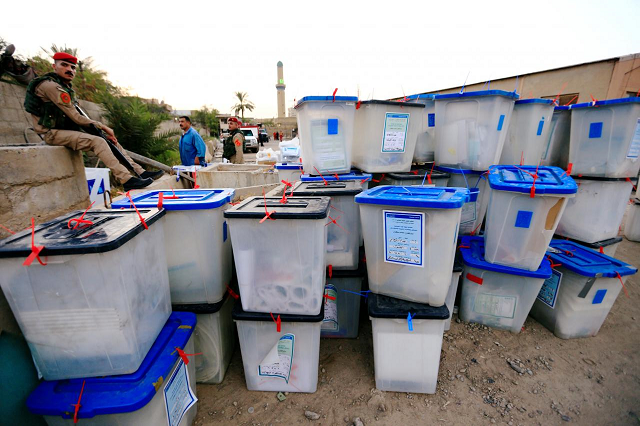 Iraq's supreme court has ordered a manual vote recount in polling stations where results from the May legislative elections were contested following allegations of fraud.  PHOTO: REUTERS