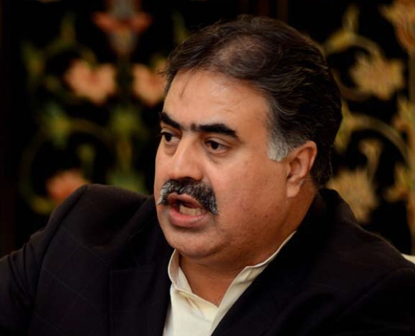 Former Balochistan chief minister Sanaullah Zehri. PHOTO: FILE