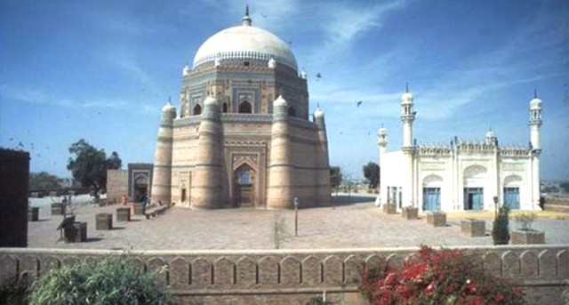 Thousands visiting Multan's famous shrines now fear for their safety in these sacred places that were meant to provide 'a safe haven' for all who came there. FILE PHOTO