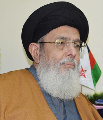 TNFJ chief, Agha Syed Hamid Ali Shah Moosavi. PHOTO: tnfj.org