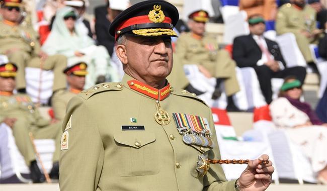 Army Chief Gen Qamar Javed Bajwa. PHOTO: ISPR