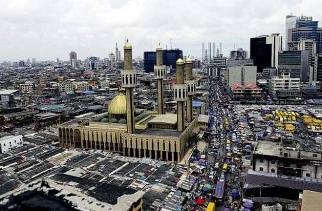 Lagos, Nigeria. PHOTO: AFP.