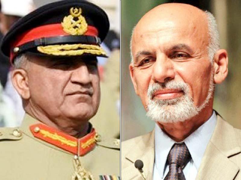 Ashraf Ghaniassures Gen Qamar on enhancing boder security measures during July 25 elections, says DG ISPR