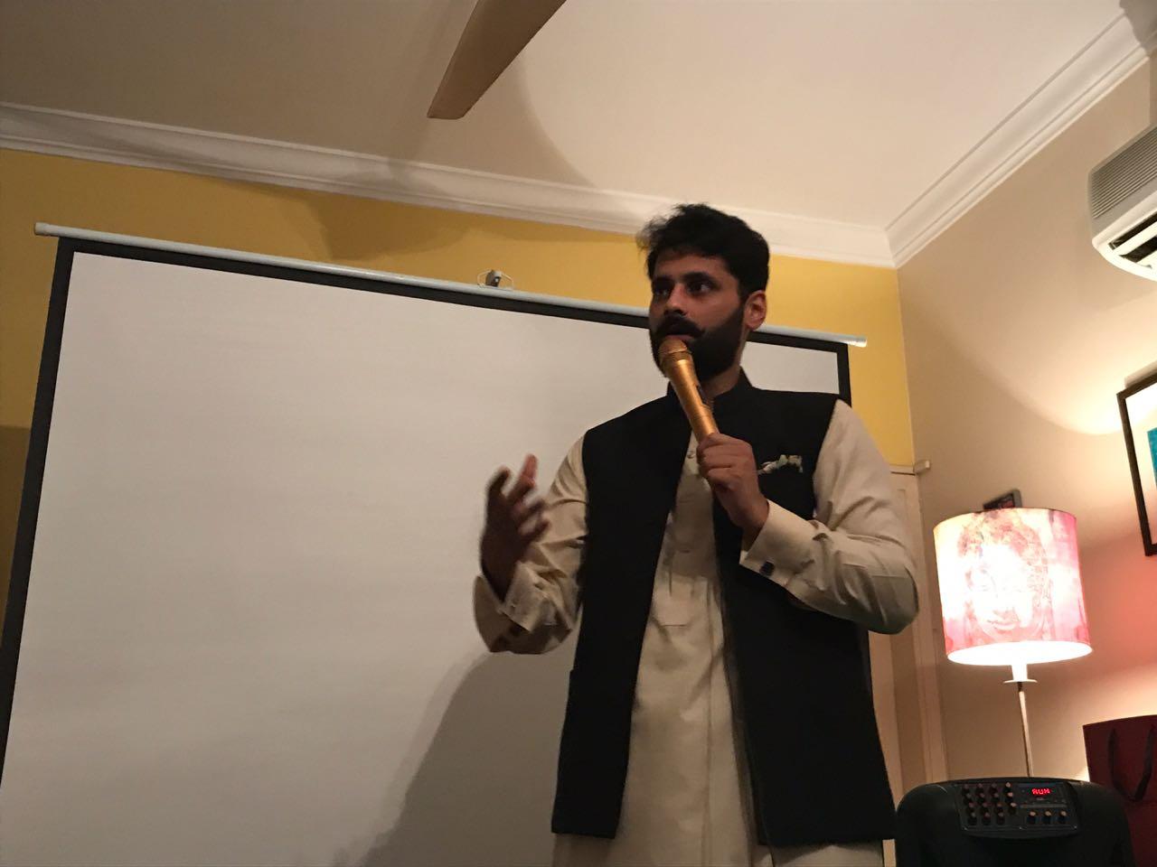 Jibran Nasir. PHOTO: EXPRESS
