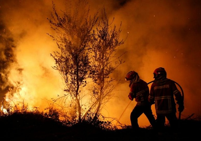 Hundred of homes imperiled as North California fire spreads. Photo: REUTERS.