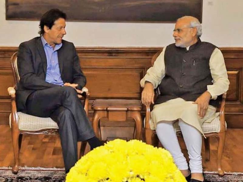 Both leaders agreed to start a new era of bilateral relations, eliminate poverty and bring in peace during the telephonic conversation. PHOTO: ONLINE/FILE