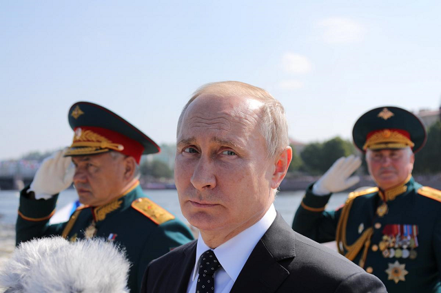 After Russia's 2014 annexation of Ukraine's Crimea, seen by the Kremlin as a big success, the military has grown increasingly influential in domestic and foreign policy, especially in Syria.  PHOTO:REUTERS