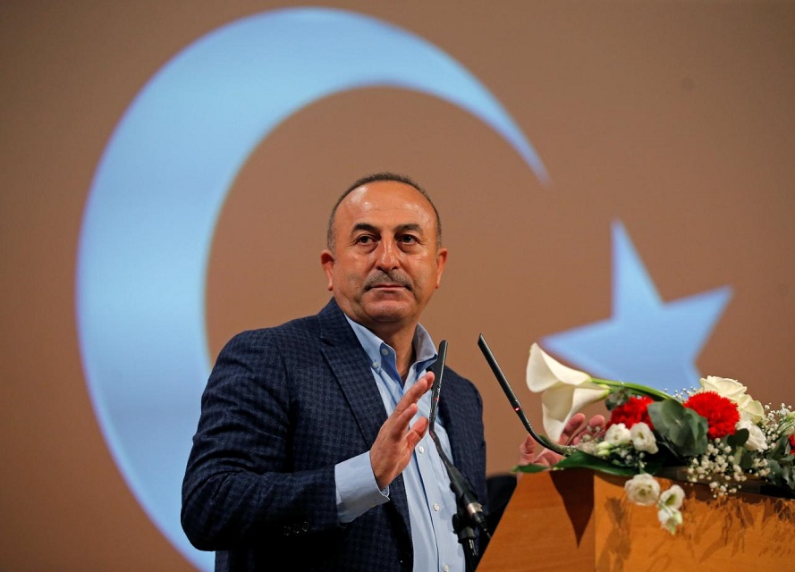 Turkish Foreign Minister Mevlut Cavusoglu. PHOTO: REUTERS