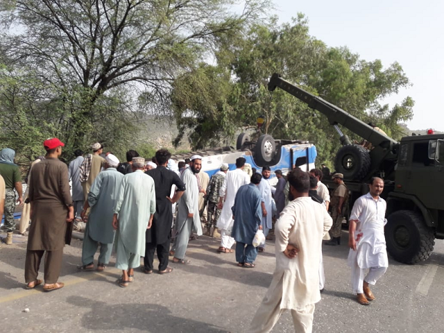 The passenger which set out from Buner was en route to Karachi, authorities say. PHOTO: EXPRESS