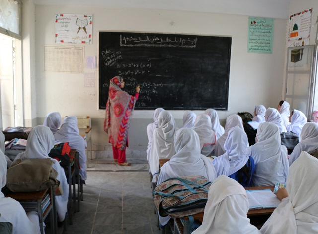 Eight more schools are under construction, set to be completed with support of USAID this year. PHOTO: EXPRESS