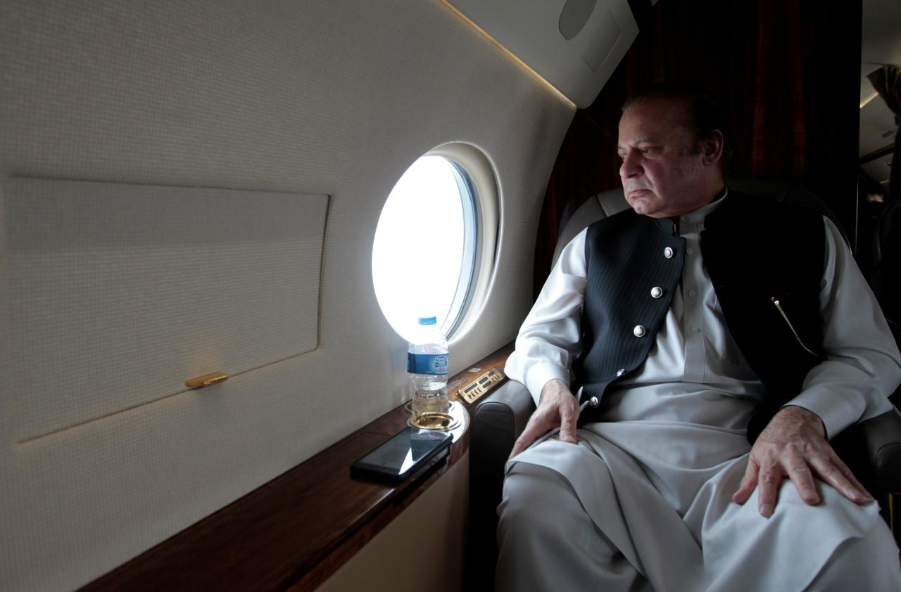 Deposed Prime Minister Nawaz Sharif. PHOTO: REUTERS