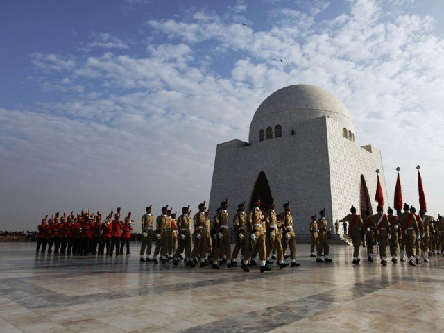 Mazar-e-Quaid. PHOTO: REUTERS