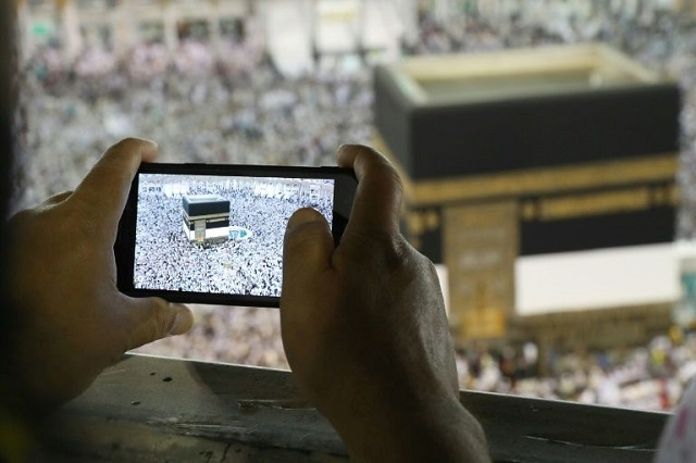 The Hajj is expected to draw two million people from around the globe this year PHOTO COURTESY: YAHOO NEWS