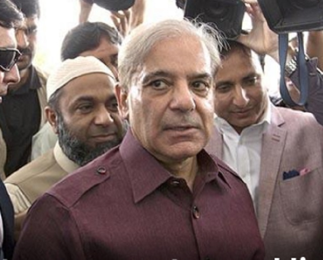 PML-N president vows to expose those behind 'rigging' during a charged speech in NA. SCREENGRAB