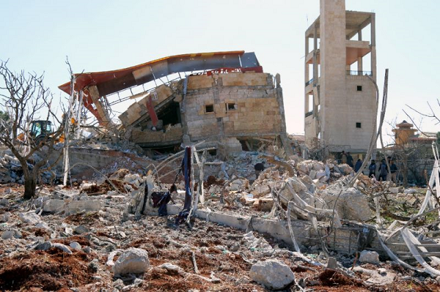 Syria's Idlib province is the last militant stronghold. PHOTO: AFP
