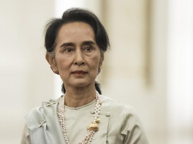 Aung San Suu Kyi. PHOTO: AFP