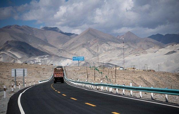 CPEC route. PHOTO: AFP