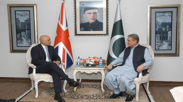 Foreign minister lauded the Department for International Development (DFID) socio-economic development work in the country. PHOTO COURTESY: RADIO PAKISTAN