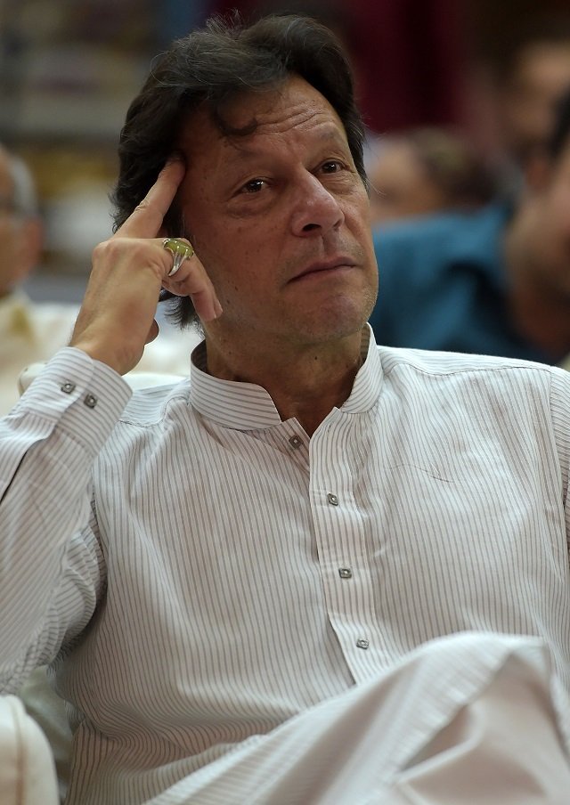 Prime Minister Imran Khan. PHOTO:AFP/FILE