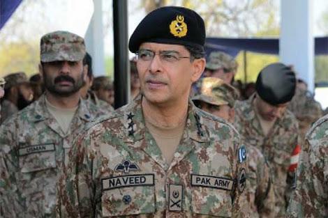 ISI Chief Lt Gen Mukhtar.